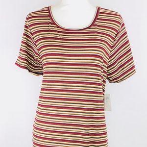 Striped Multi-Color LulaRoe Carly Dress Size (3XL)